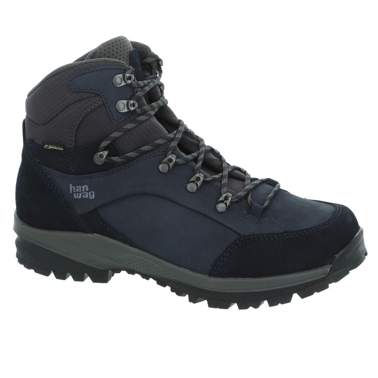 Hanwag - Banks SF Extra Lady GTX - Navy/Asphalt - Baker's Boots and Clothing