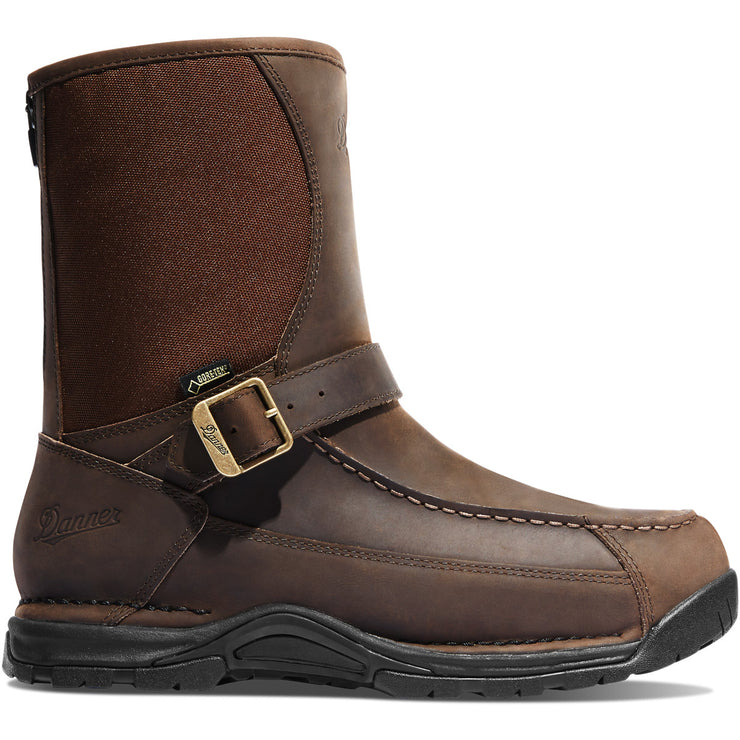 "Danner Sharptail Rear Zip 10"" Dark Brown - Baker's Boots and Clothing"
