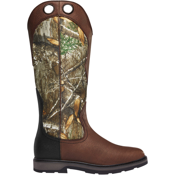 "LaCrosse Snake Country Snake Boot 17"" Realtree Edge - Baker's Boots and Clothing"