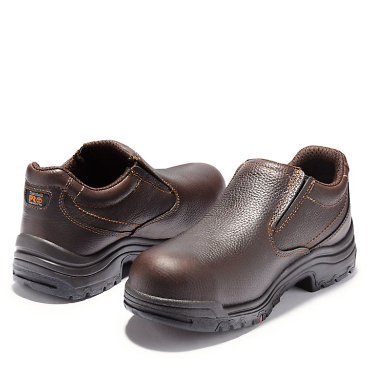Men's TiTAN¨ Safety Toe Slip-On By Timberland Pro - Baker's Boots and Clothing