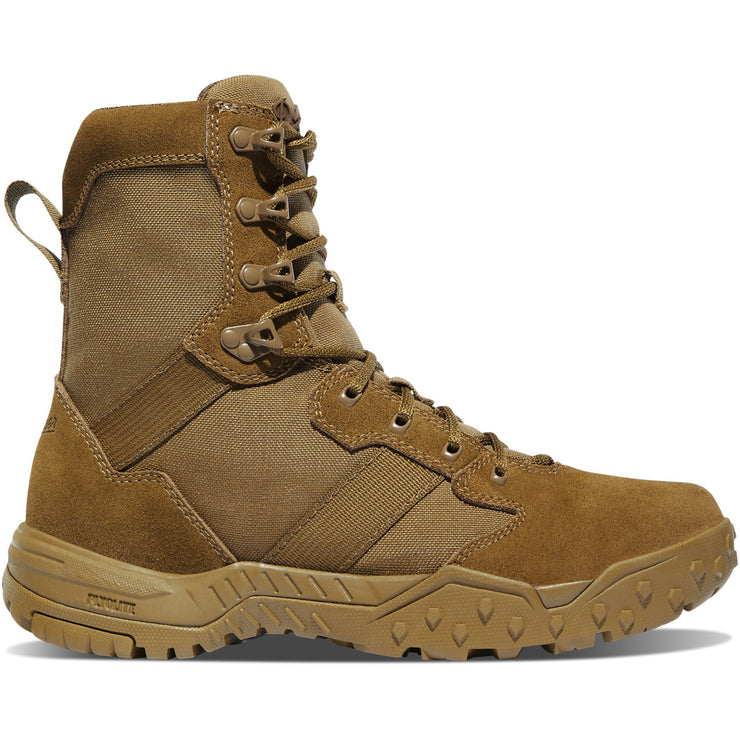 "Danner Scorch Military 8"" Coyote Hot - Baker's Boots and Clothing"