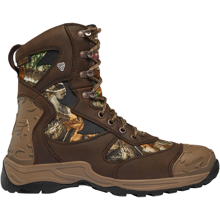 "LaCrosse Atlas 8"" Realtree Edge 800G - Baker's Boots and Clothing"