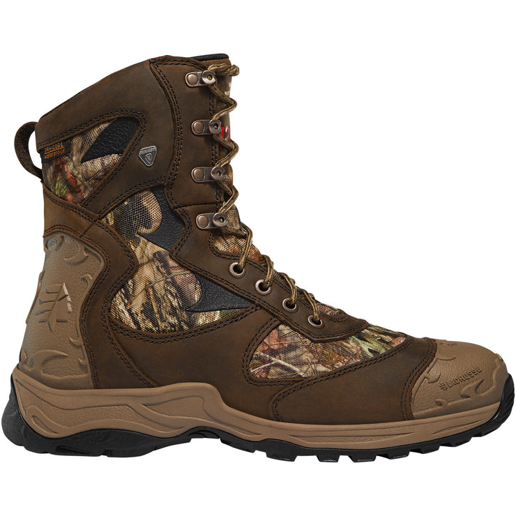 "LaCrosse Atlas 8"" Mossy Oak Break-Up Country 1200G - Baker's Boots and Clothing"
