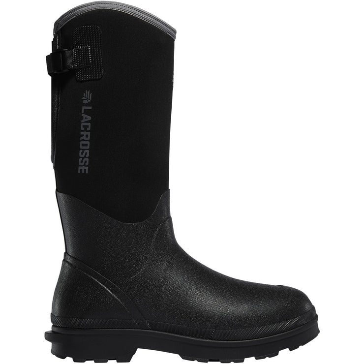 "LaCrosse Alpha Range 14"" Black 5.0MM - Baker's Boots and Clothing"