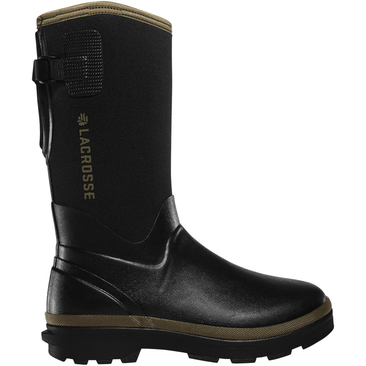 "LaCrosse Women's Alpha Range 12"" Black/Tan 5.0MM - Baker's Boots and Clothing"