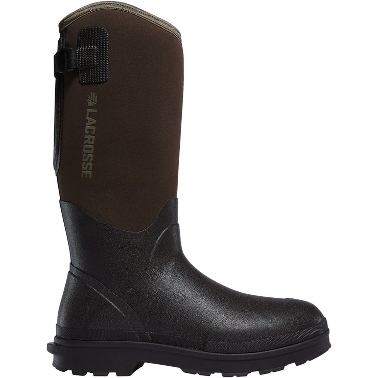 "LaCrosse Alpha Range 14"" Brown 5.0MM - Baker's Boots and Clothing"