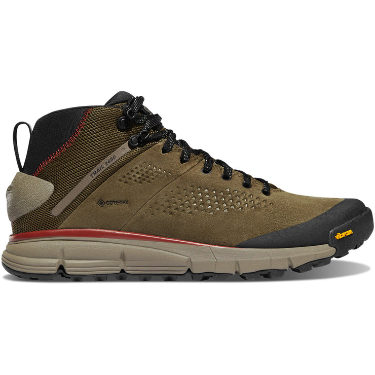 "Danner Trail 2650 Mid 4"" Dusty Olive GTX - Baker's Boots and Clothing"