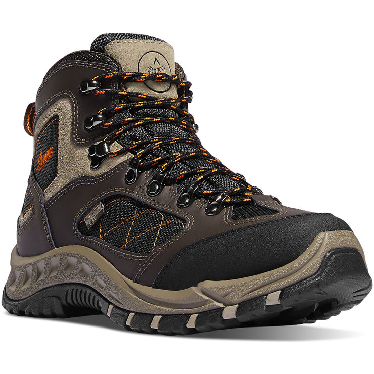 "Danner TrailTrek 4.5"" Brown/Orange - Baker's Boots and Clothing"