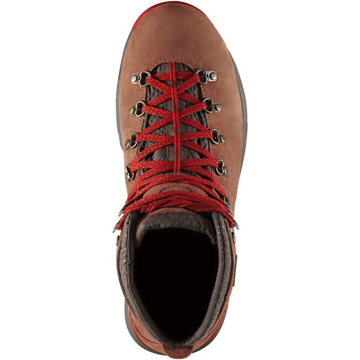 "Danner Mountain 600 4.5"" Brown/Red - Baker's Boots and Clothing"