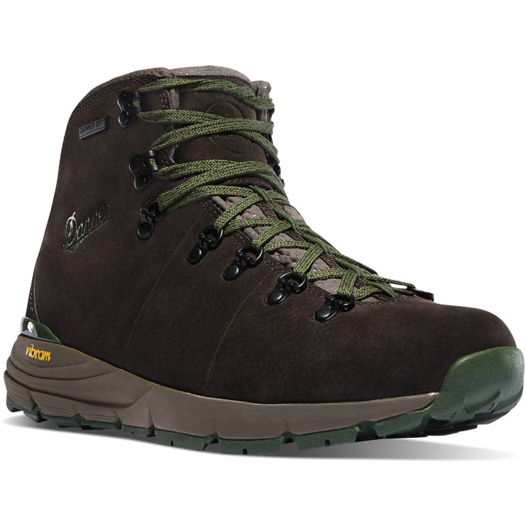 "Danner Mountain 600 4.5"" Dark Brown/Green - Baker's Boots and Clothing"