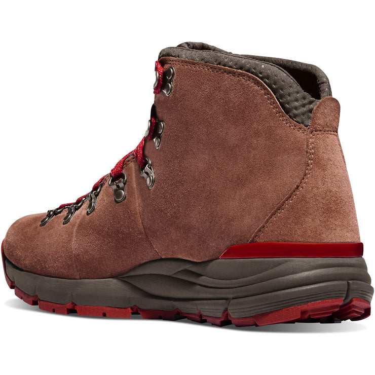 "Danner Women's Mountain 600 4.5"" Brown/Red - Baker's Boots and Clothing"