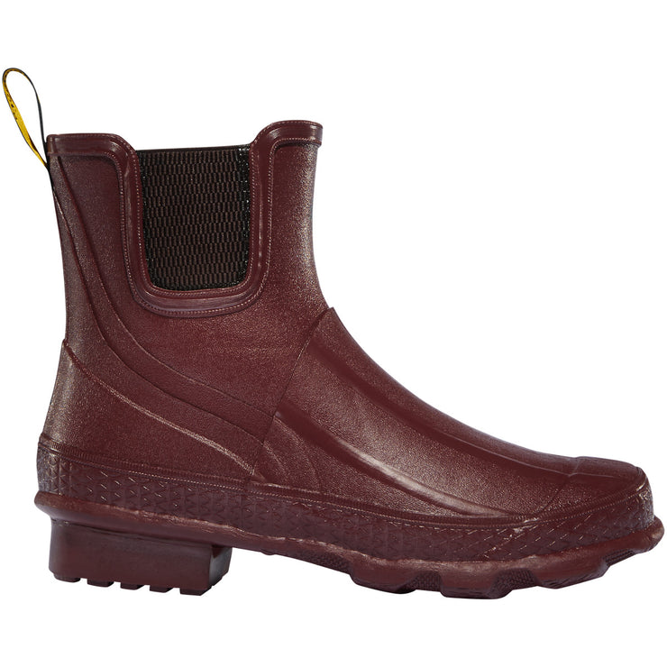 "LaCrosse Women's Grange Chelsea 5"" Brick Red - Baker's Boots and Clothing"
