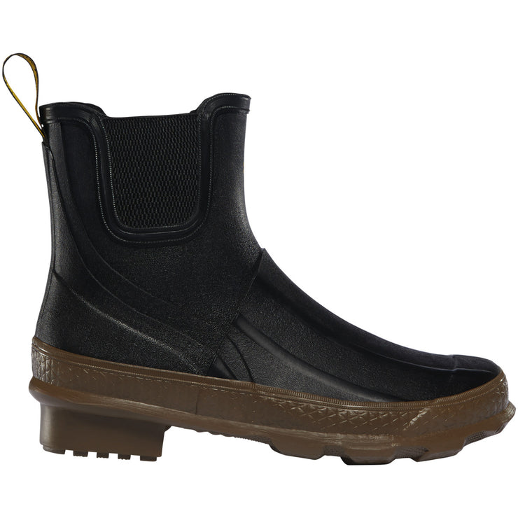 "LaCrosse Women's Grange Chelsea 5"" Black/Tan - Baker's Boots and Clothing"