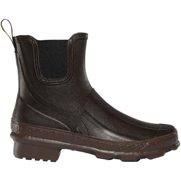 "LaCrosse Women's Grange Chelsea 5"" Classic Brown - Baker's Boots and Clothing"