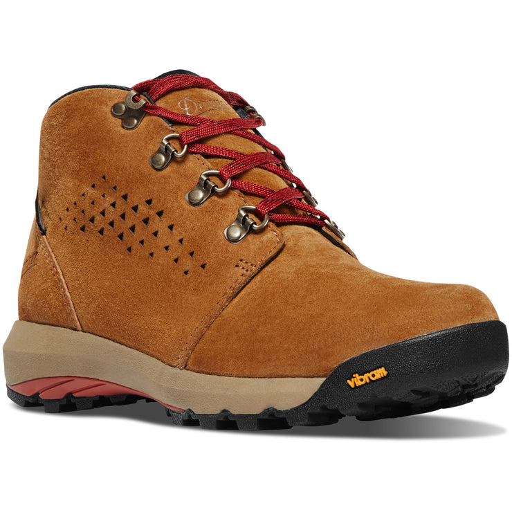 "Danner Women's Inquire Chukka 4"" Brown/Red - Baker's Boots and Clothing"