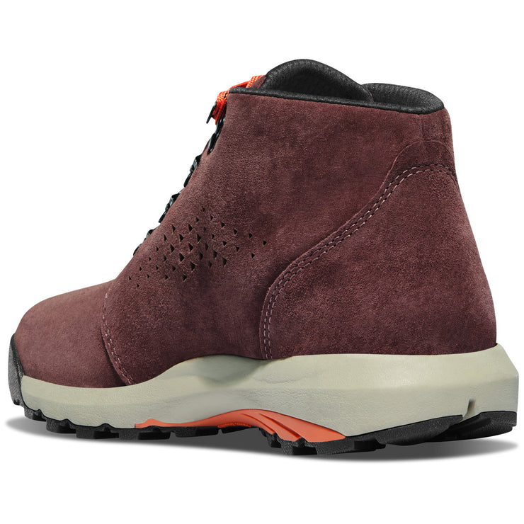 "Danner Women's Inquire Chukka 4"" Mauve/Salmon - Baker's Boots and Clothing"