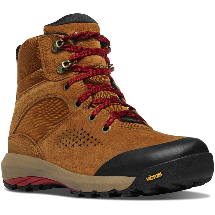 "Danner Women's Inquire Mid 5"" Brown/Red - Baker's Boots and Clothing"