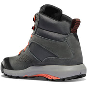 "Danner Women's Inquire Mid 5"" Dark Gray/Salmon - Baker's Boots and Clothing"
