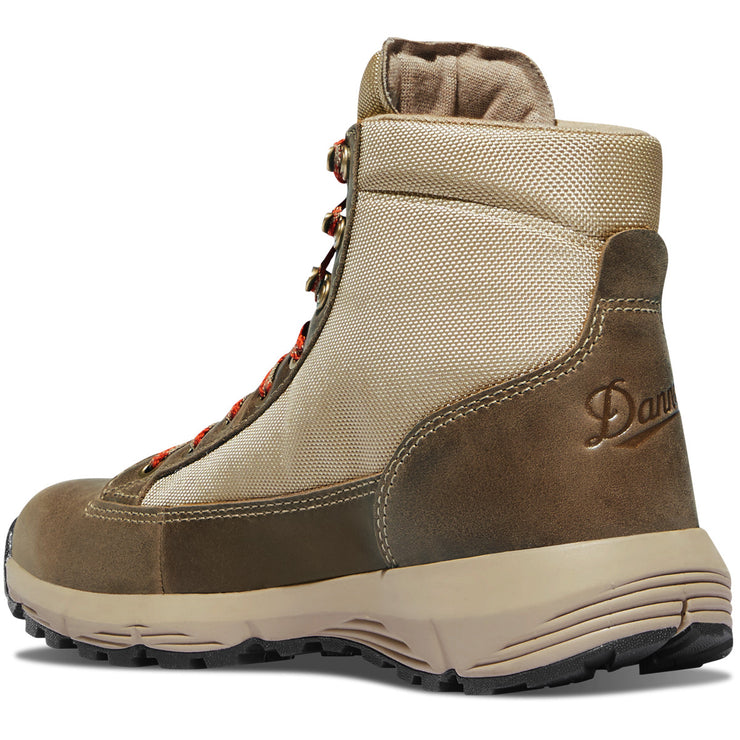 "Danner Women's Explorer 650 6"" Birch/Burnt Orange - Baker's Boots and Clothing"