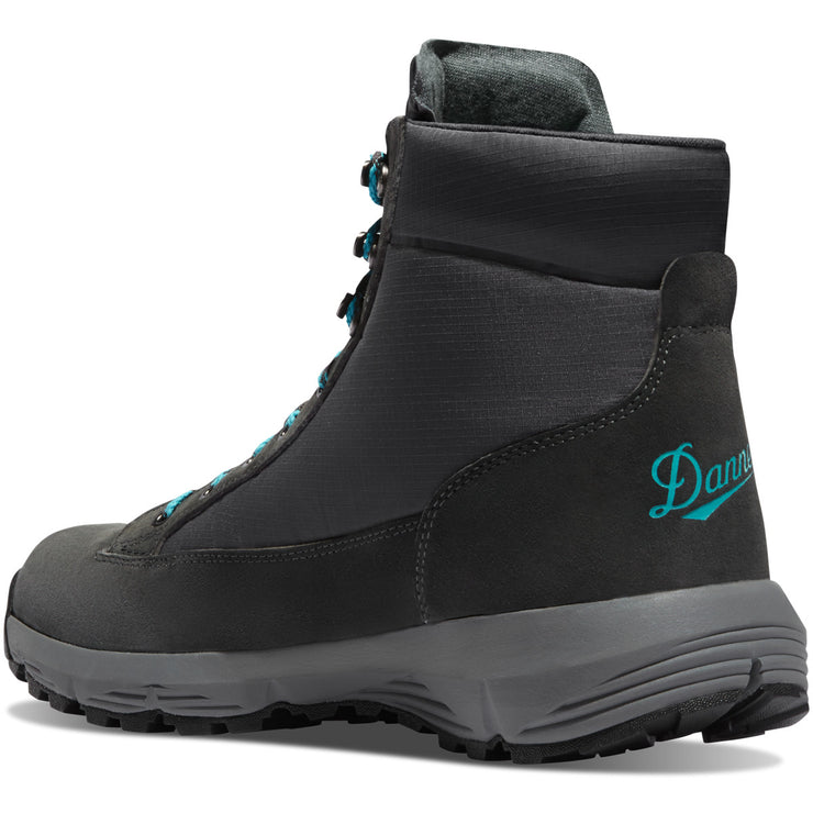 "Danner Women's Explorer 650 5"" Gray/Sky Blue - Baker's Boots and Clothing"