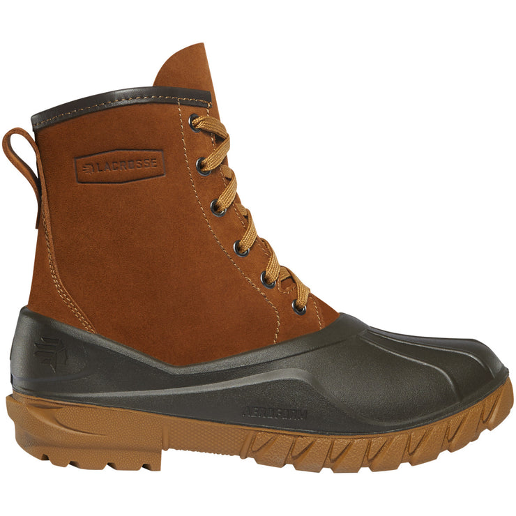 "LaCrosse Women's Aero Timber Top 8"" Clay Brown - Baker's Boots and Clothing"