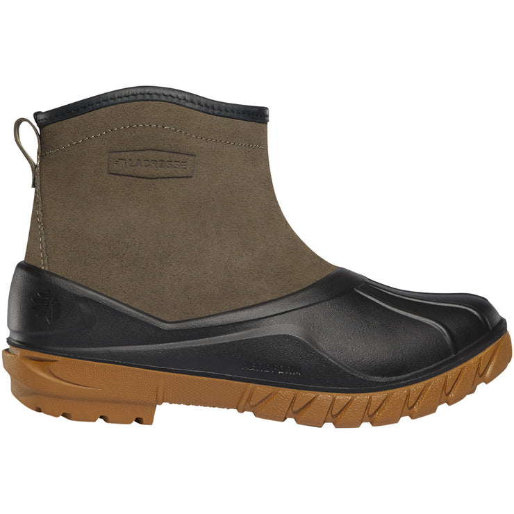 "LaCrosse Aero Timber Top Slip-On 6"" Gray/Black - Baker's Boots and Clothing"