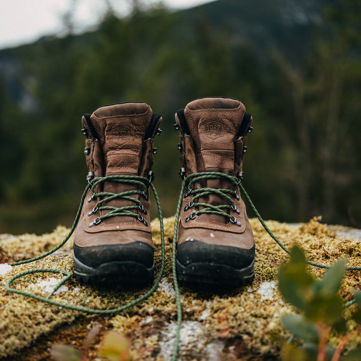 "Danner Crag Rat USA 7"" Brown/Green - Baker's Boots and Clothing"