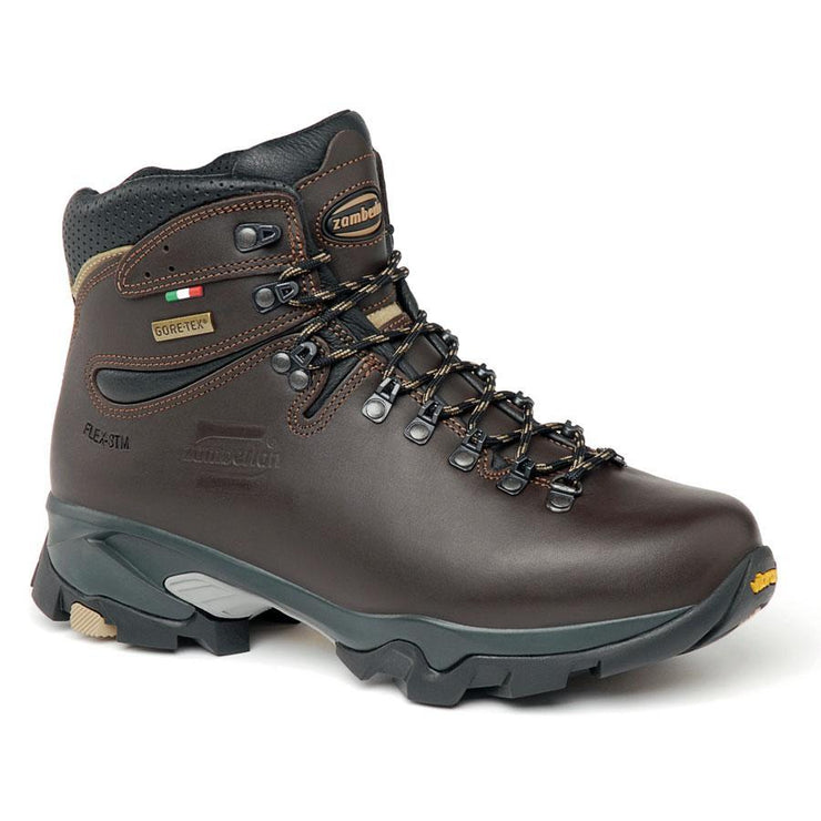 Zamberlan 996 Vioz GTX - Dark Brown -  Women's - Baker's Boots and Clothing