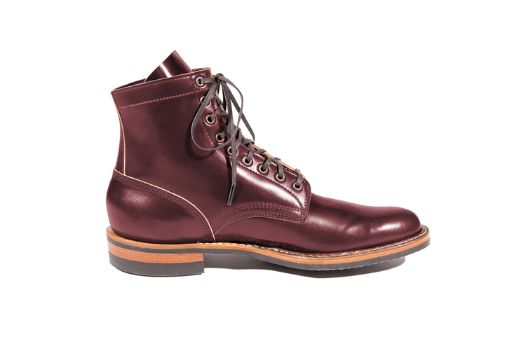 Custom MP-365 Burgundy Shell Cordovan By White's Boots - Baker's Boots and Clothing