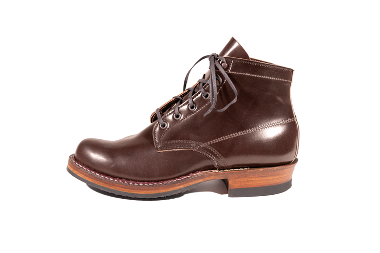 Custom Semi-Dress Brown Shell Cordovan By White's Boots - Baker's Boots and Clothing