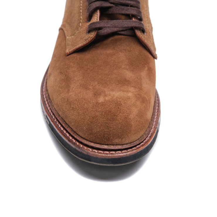Alden 4511HC Suede Plain Toe - Baker's Boots and Clothing