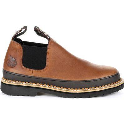 GEORGIA GIANT REVAMP STEEL TOE ROMEO WORK SHOE - Baker's Boots and Clothing