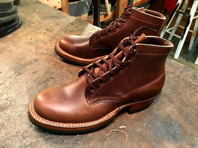 Custom Horsehide Semi Dress by White's - Baker's Boots and Clothing