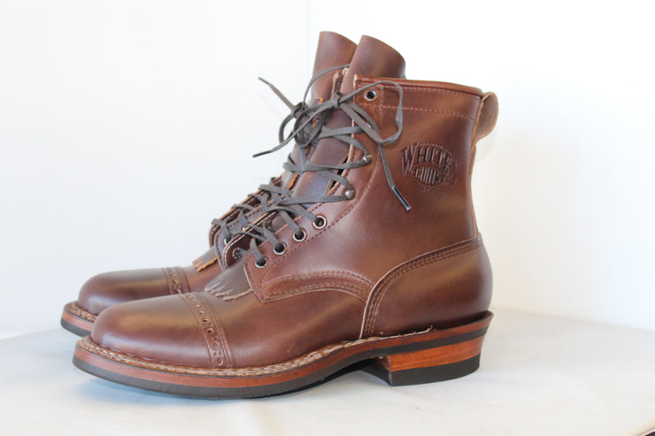 Custom Baker's Horsehide Bounty Hunter by White's Boots - Baker's Boots and Clothing