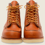 Red Wing Heritage - Men's Classic Moc 6 Inch Boot - Oro Legacy Leather - Style 875 - Baker's Boots and Clothing