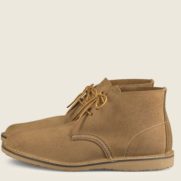 Red Wing Heritage - Men's Weekender Chukka - Hawthorne Muleskinner Leather - Style 3321 - Baker's Boots and Clothing