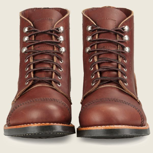 Red Wing Heritage - Women's Iron Ranger Short Boot - Amber Harness Leather - Style 3365 - Baker's Boots and Clothing