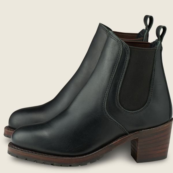 Red Wing Heritage - Women's Harriet Heeled Boot - Black Boundary Leather - Style 3473 - Baker's Boots and Clothing