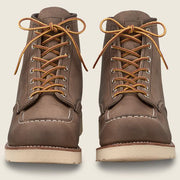 Red Wing Heritage - Men's Classic Moc 6 Inch Boot - Concrete Rough & Tough Leather - Style 4548 - Baker's Boots and Clothing