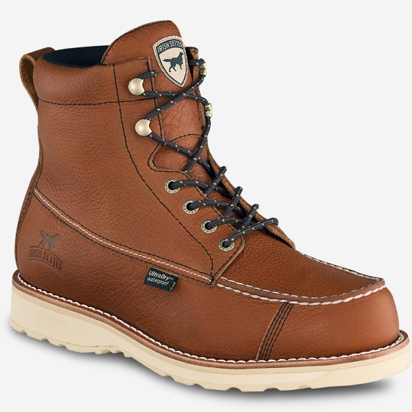 Irish Setter Wingshooter Men's 7-Inch Waterproof Leather Boot Style 838 - Baker's Boots and Clothing
