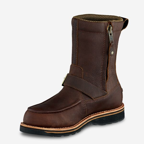 Irish Setter Wingshooter Men's 9-Inch Waterproof Leather Side-Zip Boot Style 839 - Baker's Boots and Clothing