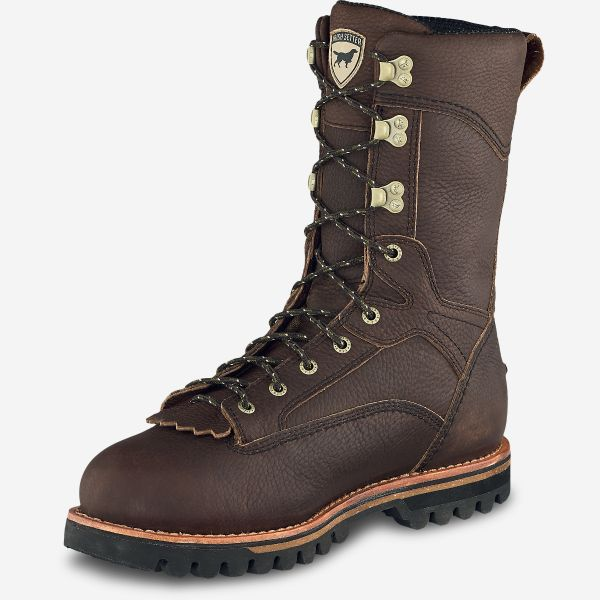 Irish Setter Elk Tracker Men's 12-Inch Waterproof Leather And Insulated Boot Style 860 - Baker's Boots and Clothing