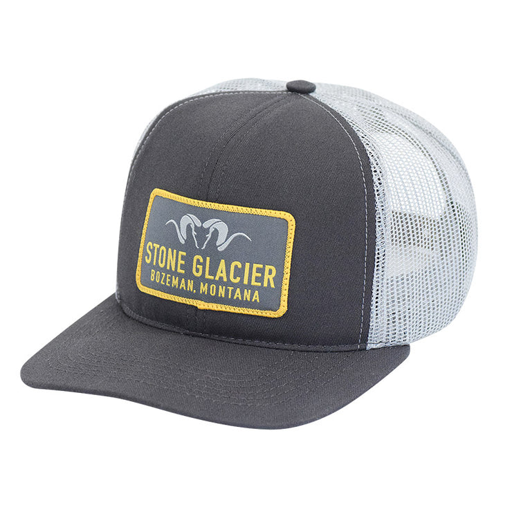 Stone Glacier Montana Patch Foamy Hat - Baker's Boots and Clothing