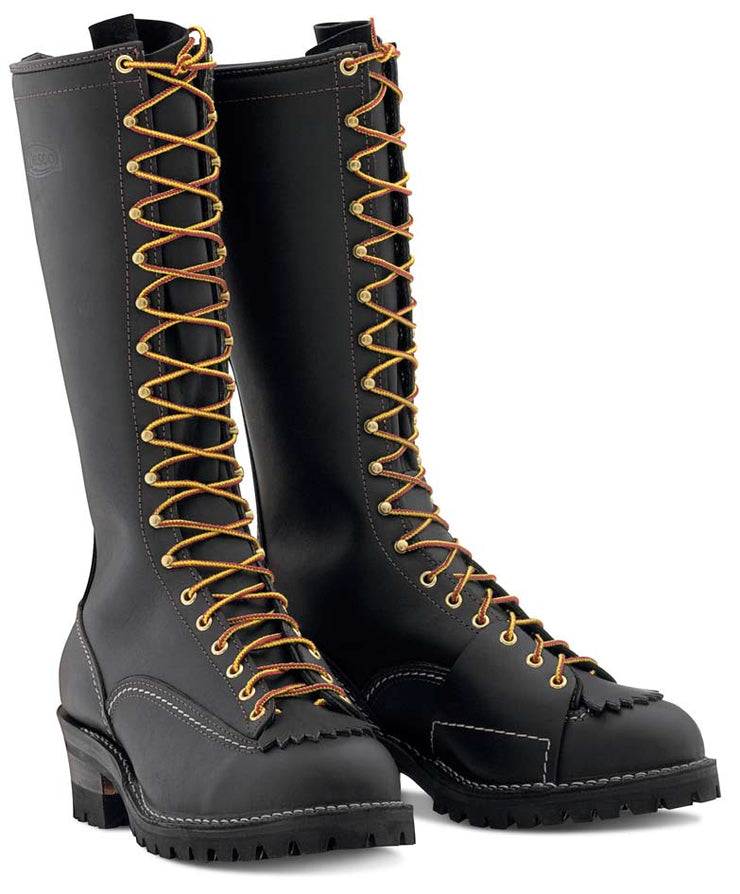 "Standard Wesco Highliner 16"" - #100 Vibram® Lug Sole-  9716100 - Baker's Boots and Clothing"