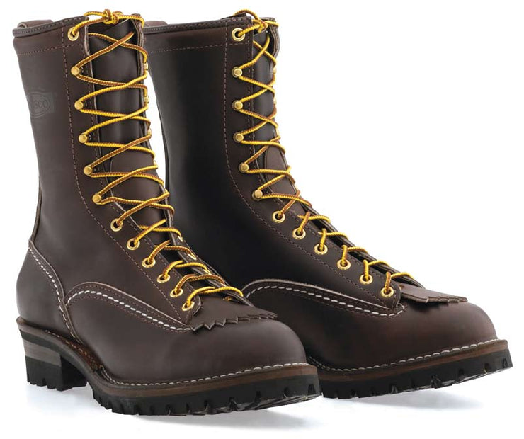 Standard Wesco Jobmaster Lace To Toe - Brown Leather - BR110100 - Baker's Boots and Clothing