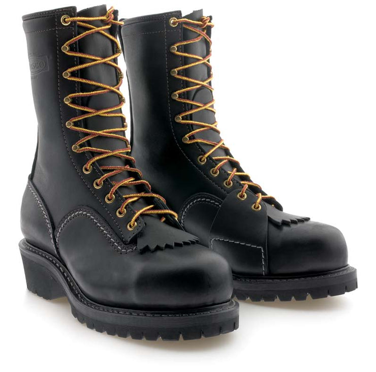 Standard Wesco Voltfoe - 10'' - Black Leather - EHBK5710109 - Baker's Boots and Clothing