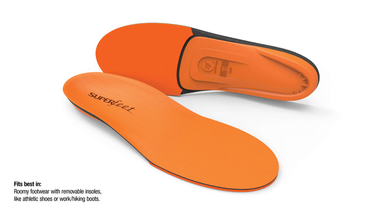 "Superfeet Orange Insoles - Women""s - Baker's Boots and Clothing"