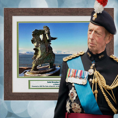 Duke of Kent and St Brendan the Navigator