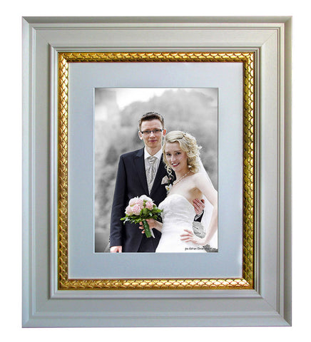 elegant wedding framing
