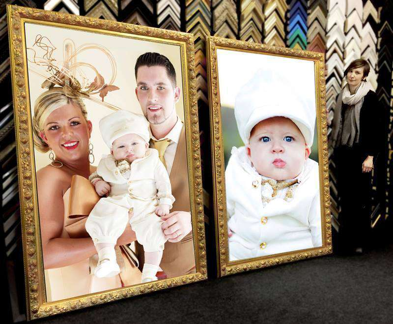 Large Format Family Studio Photos (printed & framed & delivered)